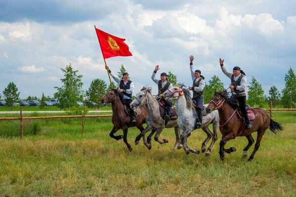 Фестиваль Мир кочевников в Казахстане - Sputnik Азербайджан