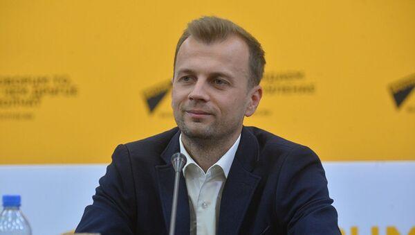 Менеджер по коммуникациям фонда Дирекция II Европейских игр — 2019 Алексей Богданович - Sputnik Азербайджан
