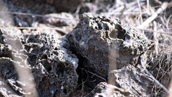 Почва на ядерном полигоне, архивное фото - Sputnik Азербайджан