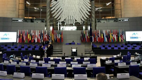 Сессия ПА ОБСЕ, Берлин, 8 июля 2018 года - Sputnik Азербайджан