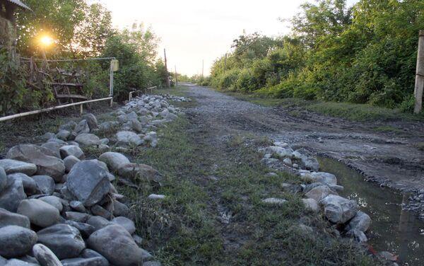 Состояние дорог в селе Говтала Загатальского района - Sputnik Азербайджан