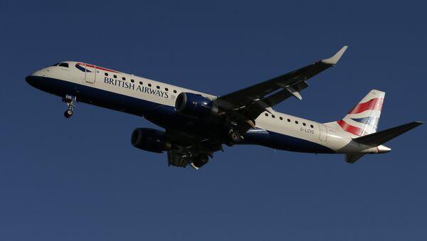 Самолет авиакомпании British Airways, фото из архива - Sputnik Азербайджан