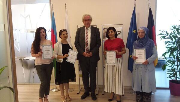 Победители конкурса по тематике защиты авторских прав и актуальной проблеме плагиата - Sputnik Азербайджан