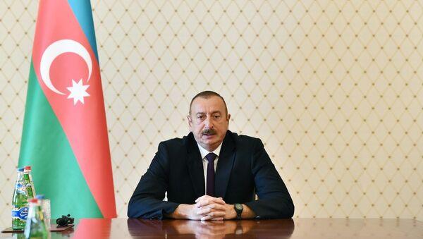 Президент Азербайджана Ильхам Алиев в ходе совещания руководителей правоохранительных органов, Баку, 13 июля 2018 года - Sputnik Азербайджан