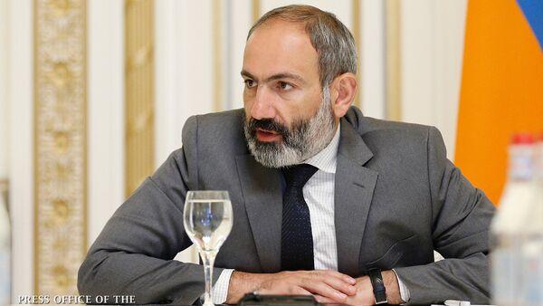 Nikol Paşinyan, arxiv şəkli - Sputnik Azərbaycan