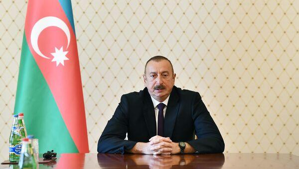 Azərbaycan Respublikasının prezidenti İlham Əliyev - Sputnik Azərbaycan
