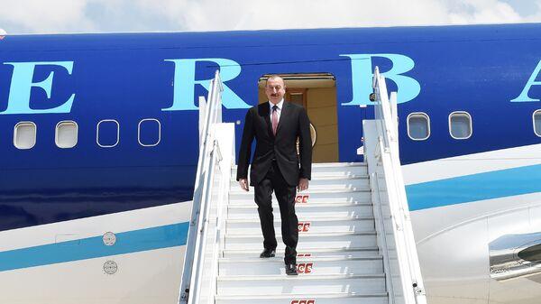 Prezident İlham Əliyev, arxiv şəkli - Sputnik Azərbaycan