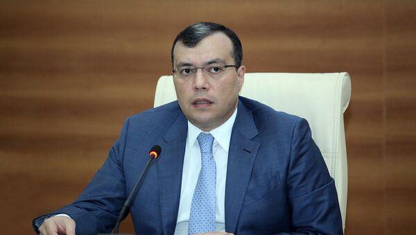 Министр труда и социальной защиты АР Сахил Бабаев - Sputnik Азербайджан