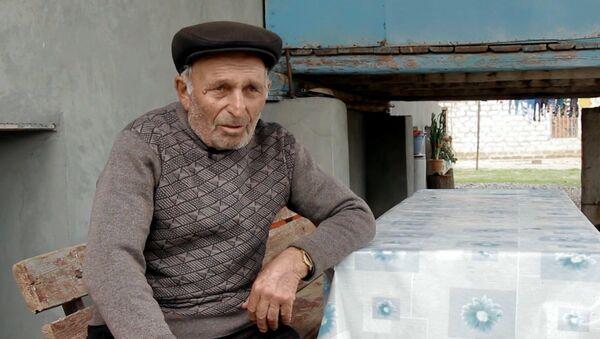 Ağdam rayonu Əfətli kənd sakini Nəsir Quliyev - Sputnik Azərbaycan