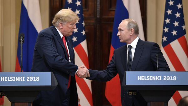 Putin və Tramp - Sputnik Azərbaycan