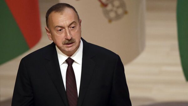 Azərbaycan prezidenti İlham Əliyev - Sputnik Azərbaycan