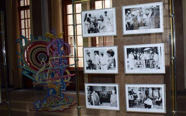 Вечер, посвященный 75-летию народного артиста Азербайджана Шахмара Алекперова. Баку, Музейный центр, 17 июля 2018 года - Sputnik Азербайджан