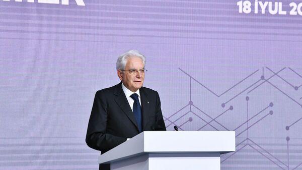 İtaliya Respublikasının Prezidenti Sercio Mattarella - Sputnik Azərbaycan