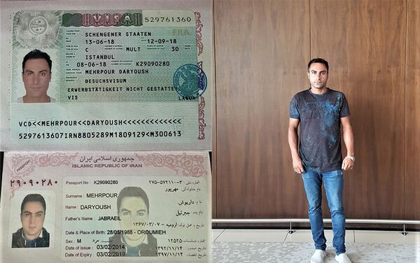Мехрпур Дарьюш Джабраэл - Sputnik Азербайджан