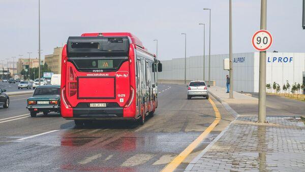 Автобус ООО BakuBus - Sputnik Азербайджан