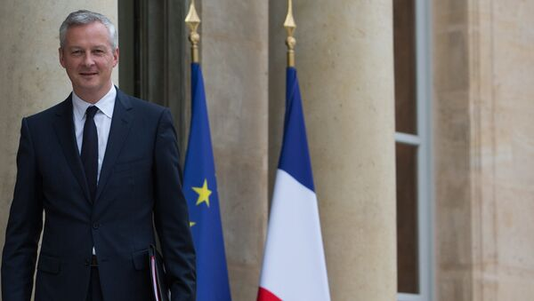 Министр экономики Франции Бруно Ле Мэр, архивное фото - Sputnik Азербайджан