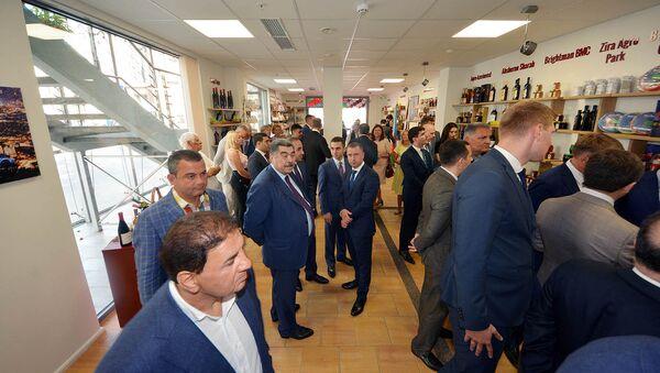 В Латвии открылся Торговый дом Азербайджана - Sputnik Азербайджан