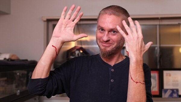 Человек-антидот Тим Фрид - Sputnik Азербайджан