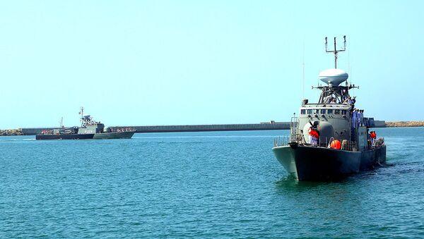 Военные корабли Ирана прибыли в Баку - Sputnik Азербайджан