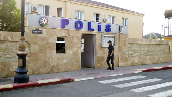 Astara Rayon Polis şöbəsi - Sputnik Азербайджан