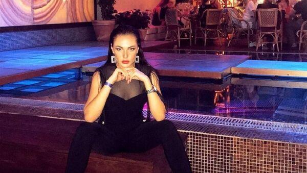 Азербайджанская модель Кристина Замир - Sputnik Азербайджан