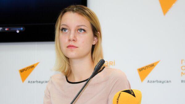 Генеральный директор Информационного центра по изучению постсоветского пространства Дарья Чижова - Sputnik Азербайджан