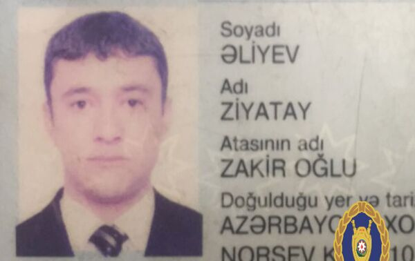Арестованный Зиятай Алиев - Sputnik Азербайджан