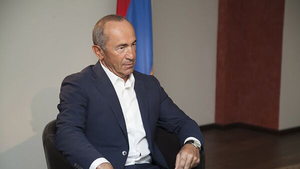 Роберт Кочарян - Sputnik Azərbaycan