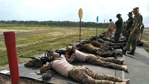Азербайджанские снайперы продемонстрируют свое мастерство на конкурсе Снайперский рубеж - Sputnik Азербайджан