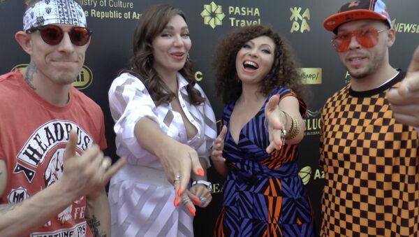 EMIN, группа Бандерос и рэпер ST спели для Sputnik Азербайджан - Sputnik Азербайджан