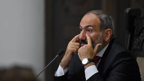 Пресс-конференция премьер-министра Армении Никола Пашиняна (20 июля 2018). Еревaн - Sputnik Азербайджан