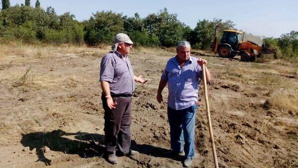 Xaçmazın Pirquluoba kəndində arxeoloji qazıntılar aparılıb - Sputnik Azərbaycan