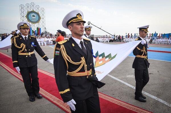 Церемония открытия международного конкурса Кубок моря-2018 - Sputnik Азербайджан
