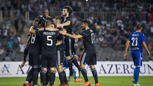 Матч 2-го квалификационного раунда Лиги чемпионов, Карабах против албанской Кукеси - Sputnik Азербайджан