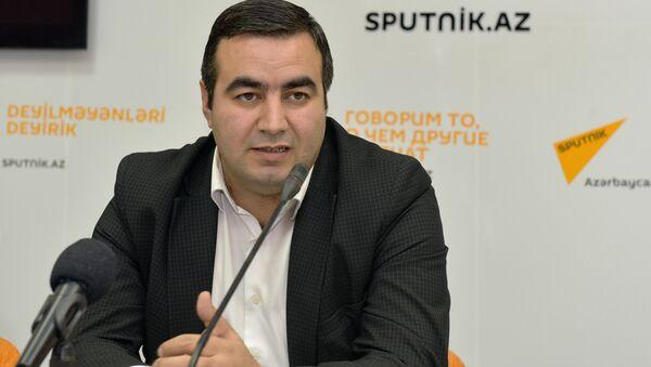 Тариэль Фазильоглу, психолог - Sputnik Азербайджан