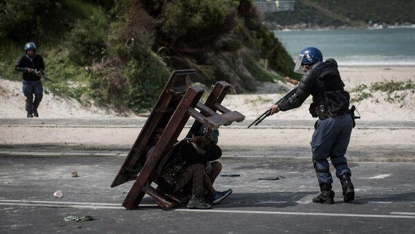 Джастин Салливан, ЮАР. Противостояние. Главные новости, одиночные фотографии, 1 место - Sputnik Азербайджан