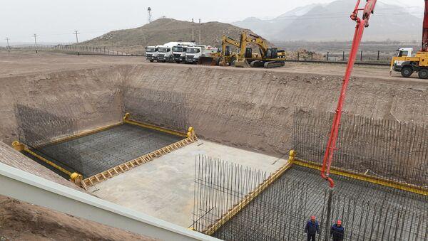 Строительство Ордубадской ГЭС, 11 января 2017 года - Sputnik Азербайджан