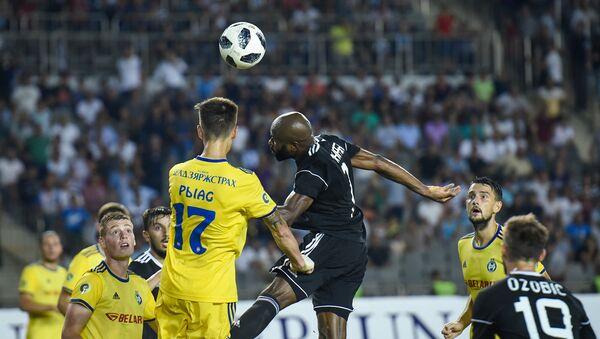 Футбольный матч Карабах-БАТЭ (Беларусь) в рамках третьего квалификационного раунда Лиги чемпионов УЕФА - Sputnik Азербайджан