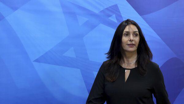 İsrailin mədəniyyət və idman naziri Miri Regev - Sputnik Azərbaycan