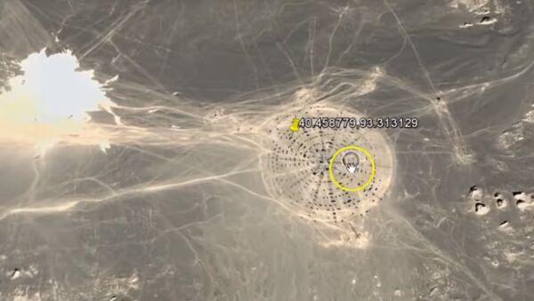 Неизвестный объект в пустыне Гоби - Sputnik Азербайджан