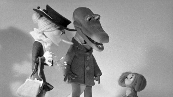 Персонажи мультфильма Крокодил Гена и Чебурашка - Sputnik Азербайджан