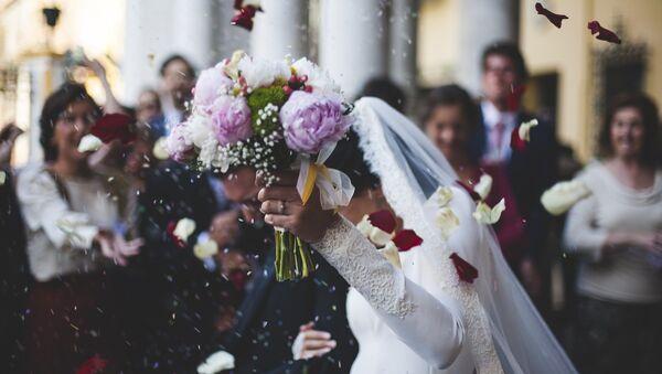 Свадьба, фото из архива - Sputnik Азербайджан
