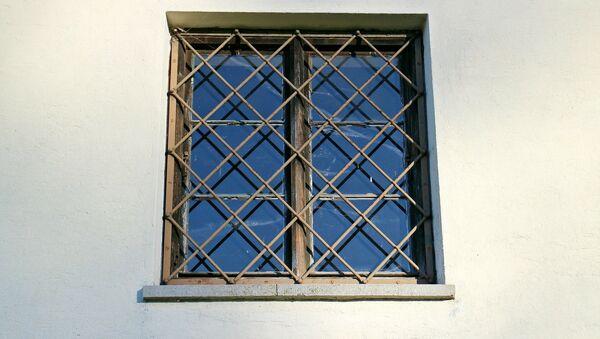 Зарешеченное окно, фото из архива - Sputnik Азербайджан