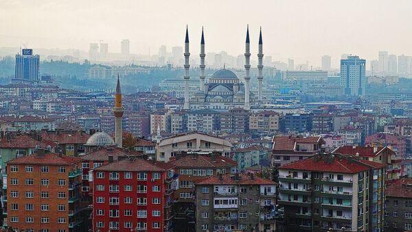 Жилые дома в Анкаре, Турции - Sputnik Азербайджан