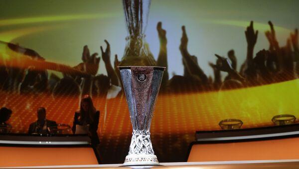 Кубок Лиги Европы перед жеребьевкой, фото из архива - Sputnik Азербайджан