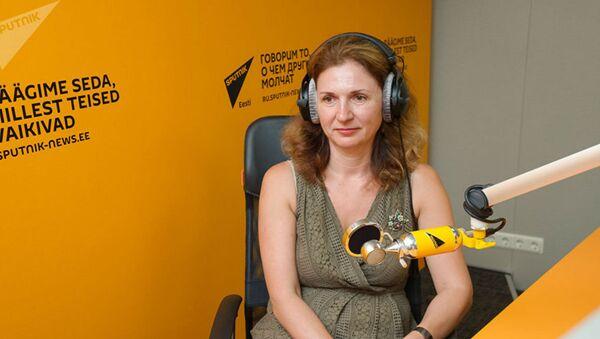 Кандидат филологических наук, лектор Института гуманитарных наук Таллиннского университета Наталия Чуйкина - Sputnik Азербайджан