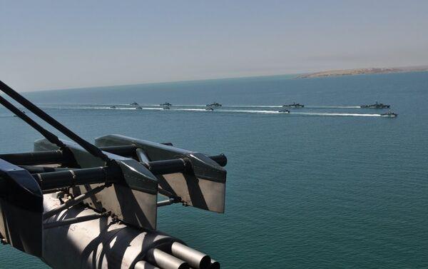 Совместные тактические военные учения соединений Государственной пограничной службы Азербайджанской Республики - Sputnik Азербайджан