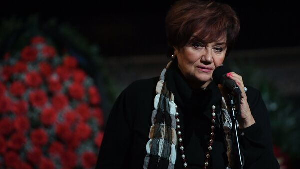 Оперная певица Тамара Синявская - Sputnik Азербайджан