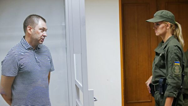 К. Вышинский, задержанный в Киеве и арестованный судом Херсона на 60 дней без возможности внесения залога, подозревается в поддержке самопровозглашенных республик Донбасса и государственной измене - Sputnik Азербайджан