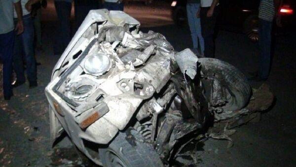 Авария в Гейчае - Sputnik Азербайджан
